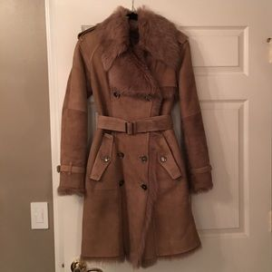 Burberry London shearling coat new 💯 authentic